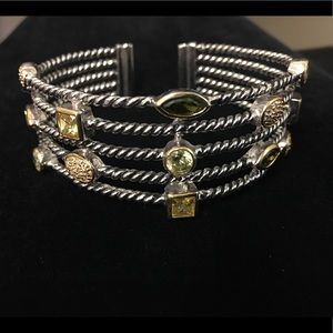 Park Lane cuff gem bracelet